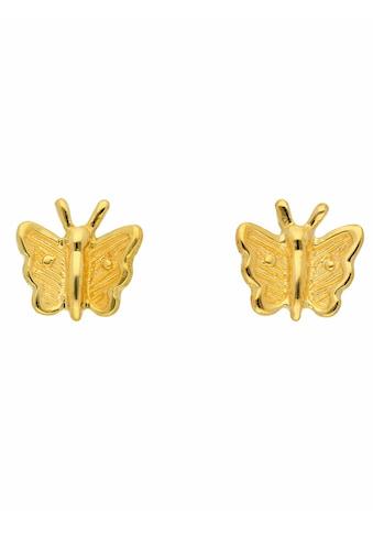 Adelia´s Paar Ohrstecker »333 Gold Ohrringe / Ohrstecker Schmetterling«, Goldschmuck... kaufen
