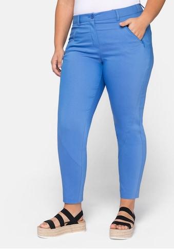 Sheego Stretch-Hose, figurschmeichelnd und elastisch kaufen