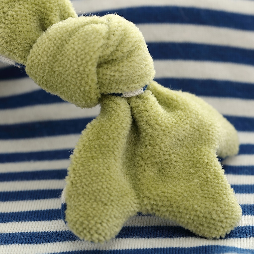 Sigikid Schnuffeltuch »Frosch, blau«, Made in Europe