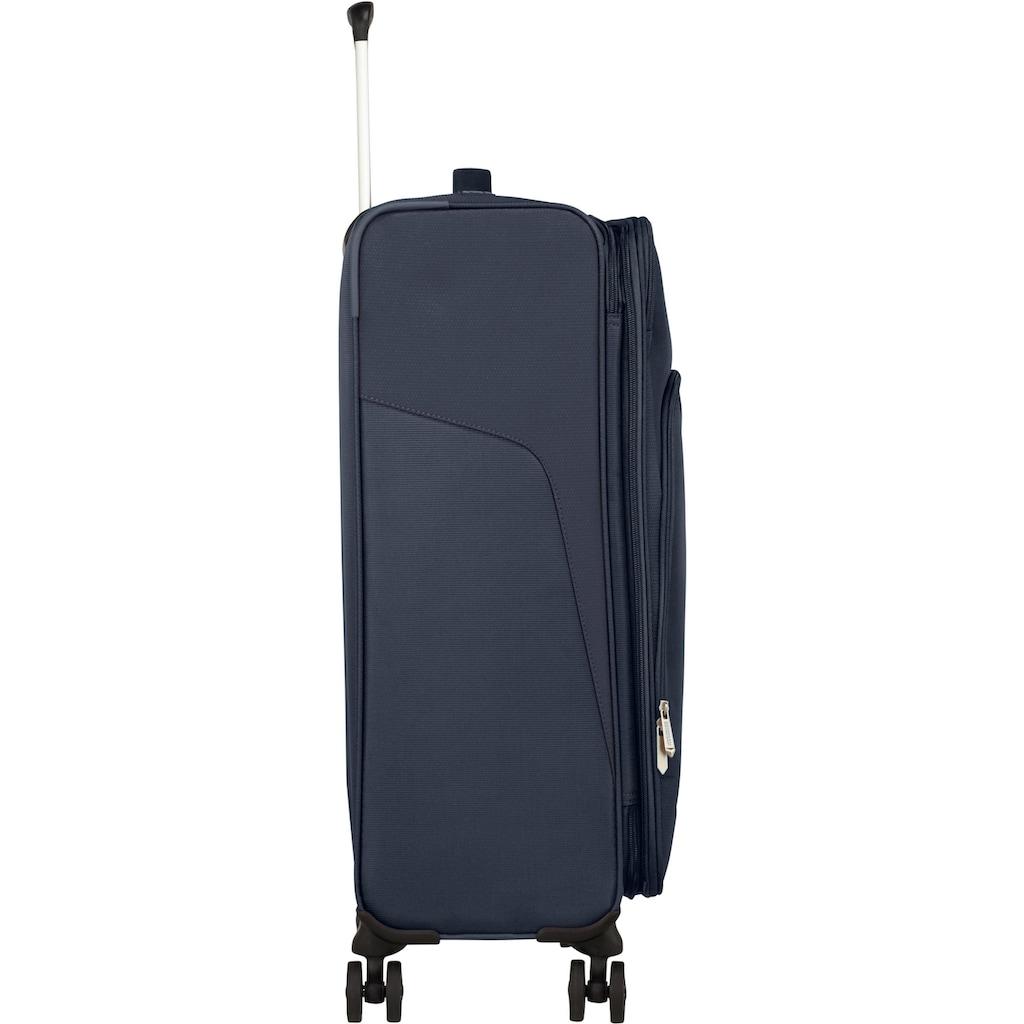 American Tourister® Weichgepäck-Trolley »Summerfunk, 67 cm, navy«, 4 Rollen