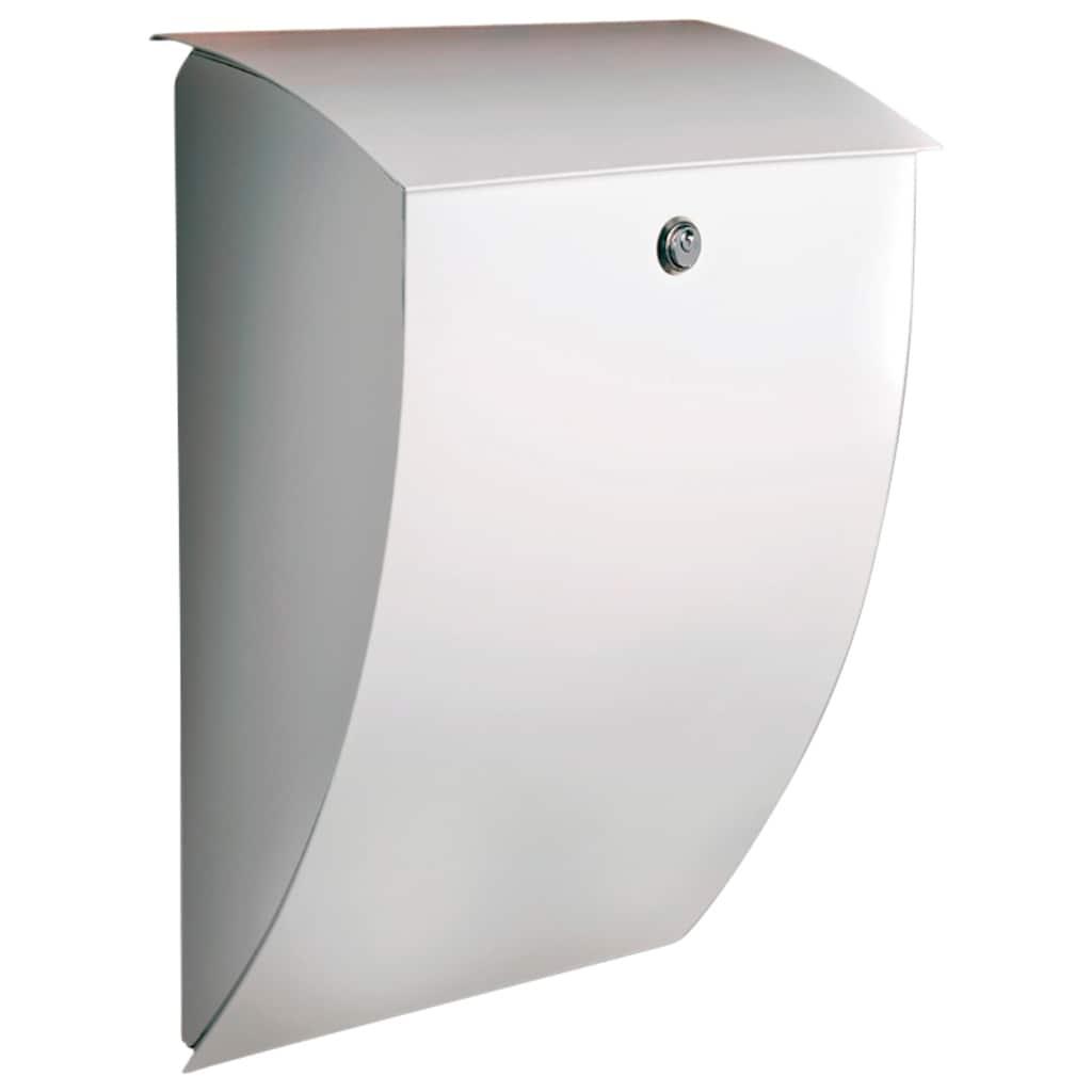 Burg Wächter Briefkasten »Milano 843 W«, mit Öffnungsstopp, aus Stahlblech