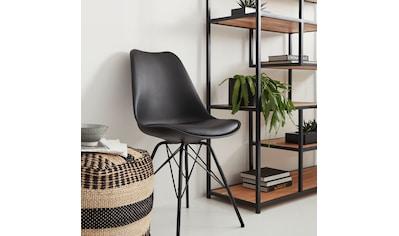 Homexperts Esszimmerstuhl »Ursel 01«, Sitzschale mit Sitzkissen in Kunstleder kaufen