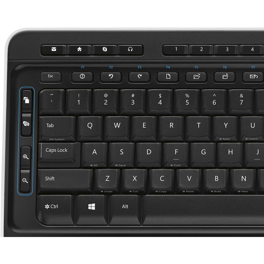 Microsoft Tastatur- und Maus-Set »Wireless Desktop 3050«