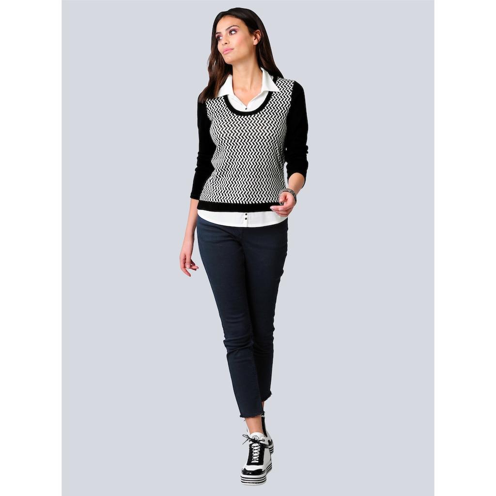 Alba Moda 2-in-1-Shirt, in 2-in-1-Optik