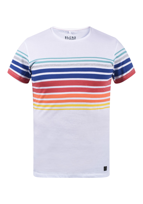 blend -  Rundhalsshirt 20709617, T-Shirt mit Muster