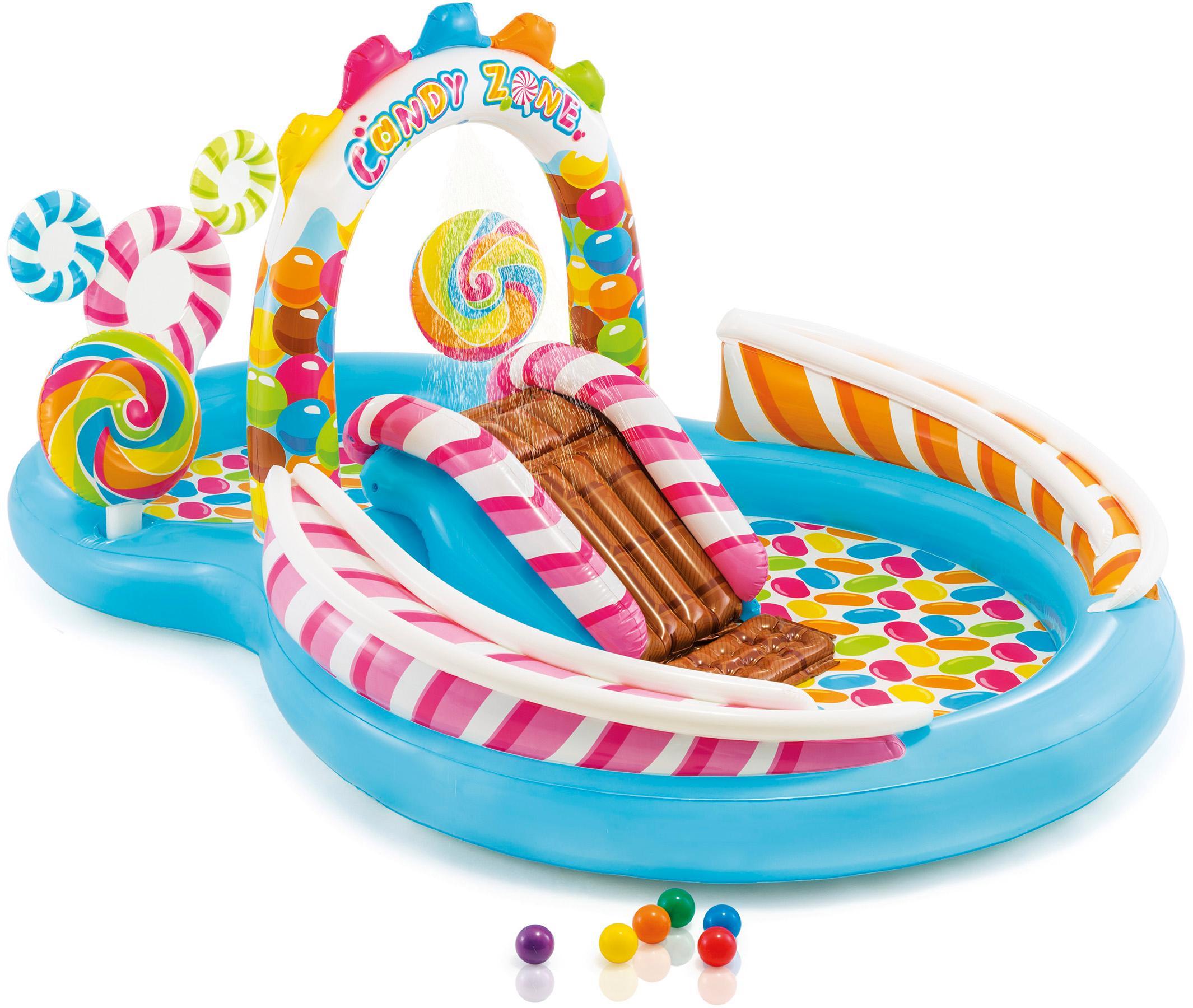 "Intex Planschbecken ""Candy Zone™ Play Center"" Technik & Freizeit/Heimwerken & Garten/Garten & Balkon/Pools & Planschbecken/Planschbecken/Kinderplanschbecken"