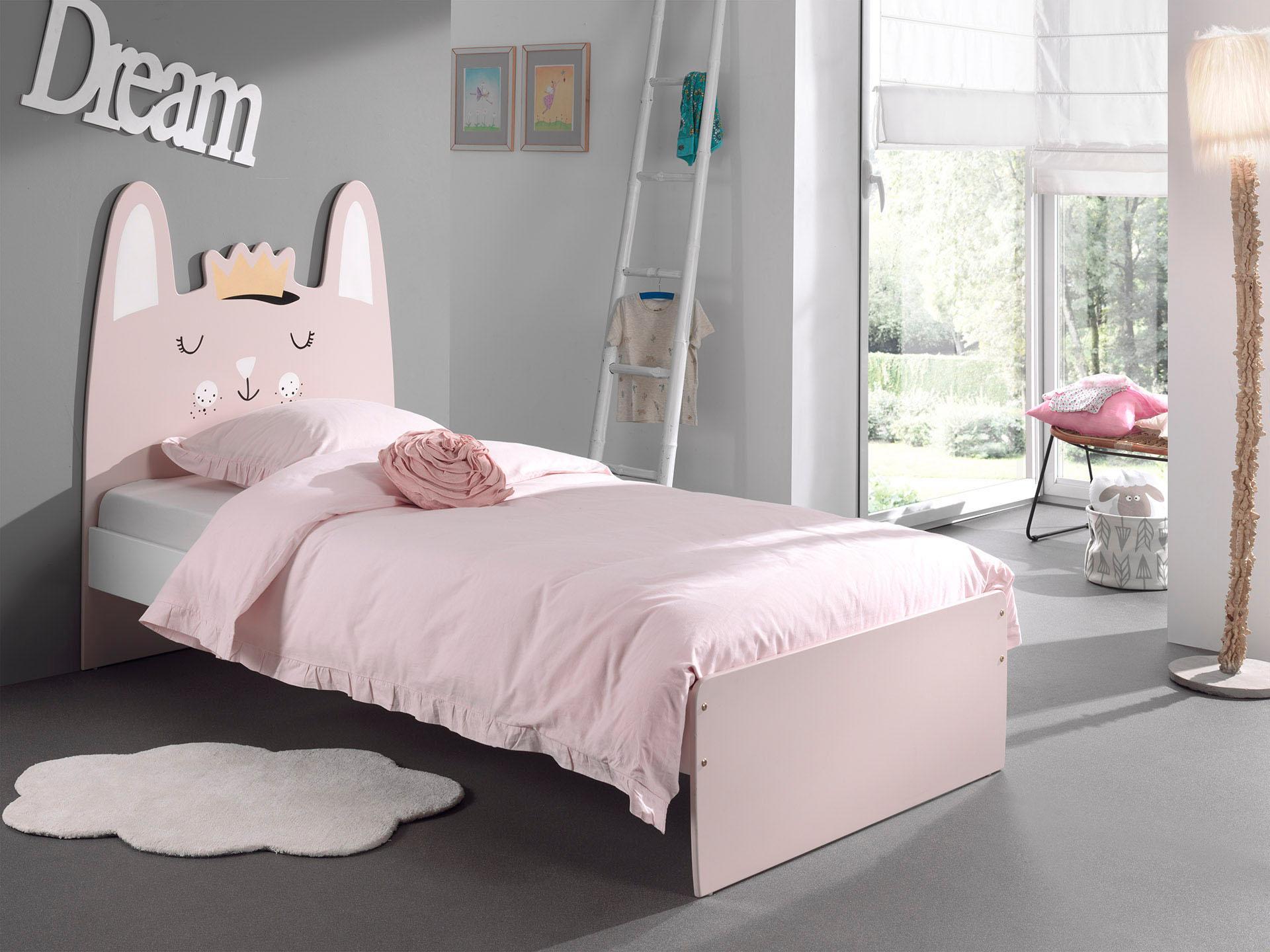 Vipack Kinderbett mit MDF-Oberfläche wahlweise mit Rolllattenrost und Bettschubkasten