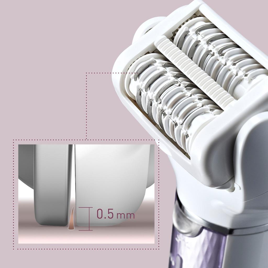 Panasonic Epilierer »ES-EL7C-V503«, 5 St. Aufsätze, Nass/Trocken, Aufsätze: 5 Stk., Peeling und Fußpflege