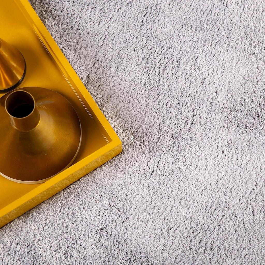 Obsession Hochflor-Teppich »My Paradise 400«, rechteckig, 30 mm Höhe, besonders weich durch Microfaser, Wohnzimmer