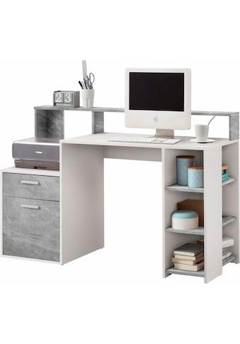 FMD Regal - Schreibtisch »Bolton« kaufen