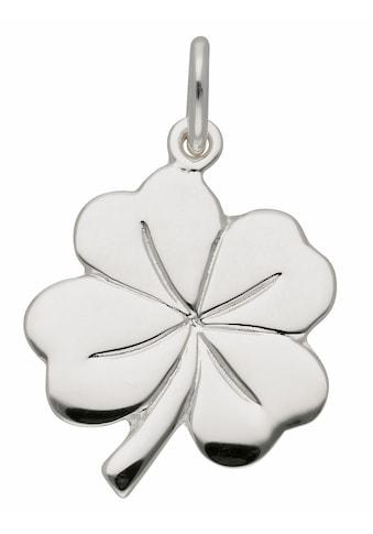 Adelia´s Kettenanhänger »925 Silber Anhänger Kleeblatt« kaufen