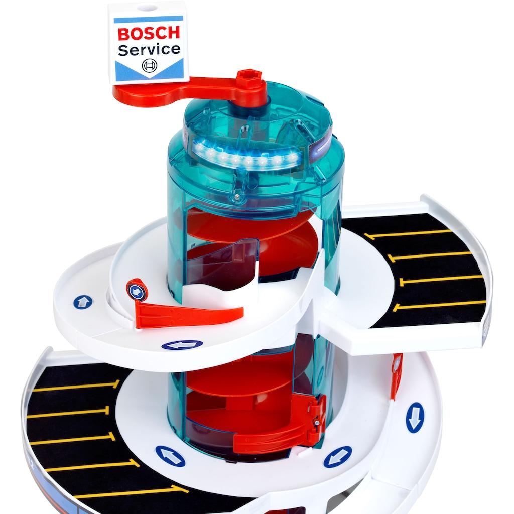 Klein Spiel-Parkhaus »Bosch Service Helix Parkgarage«, mit 2 Fahrzeugen