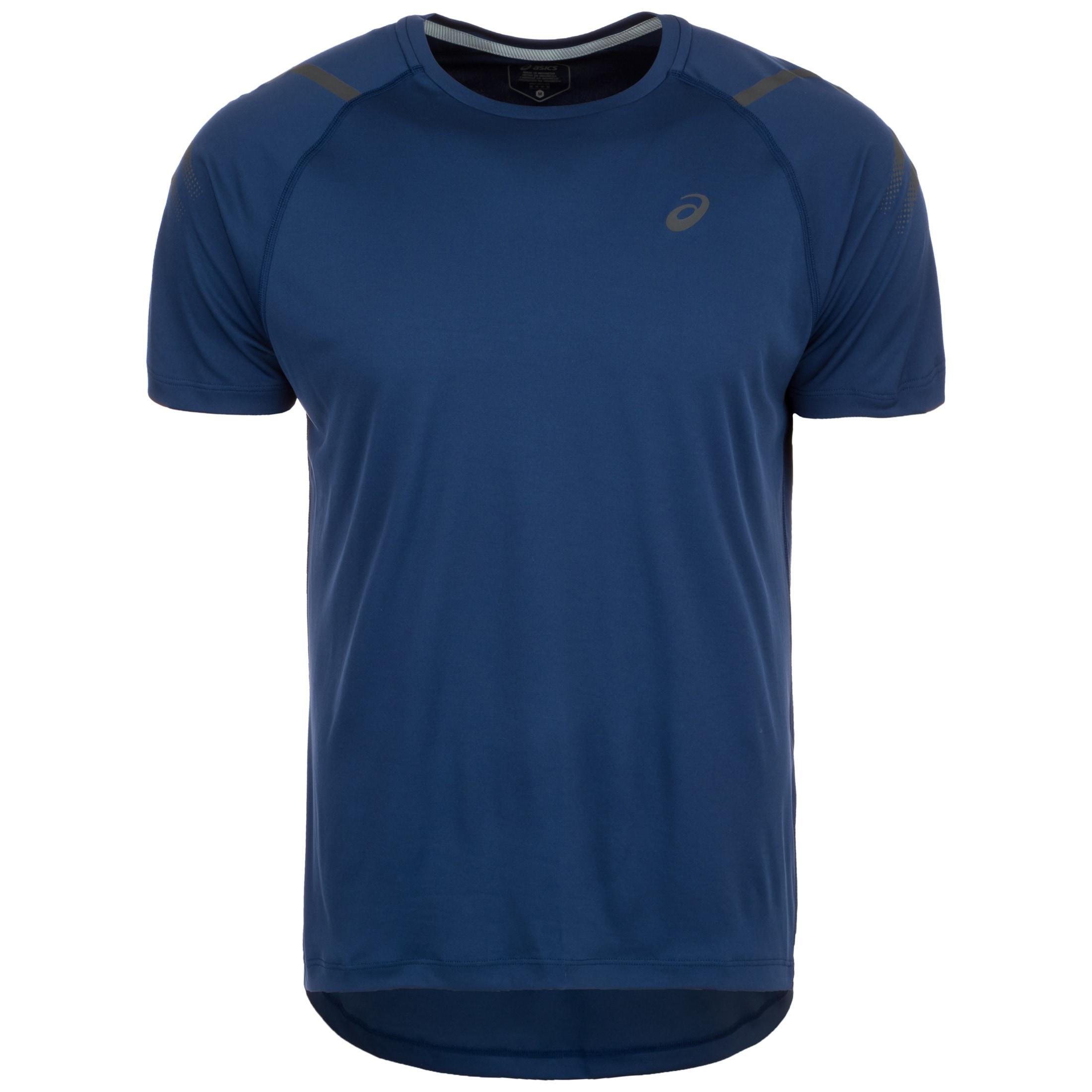 Asics Laufshirt Icon   Sportbekleidung > Sportshirts > Laufshirts   Blau   Asics