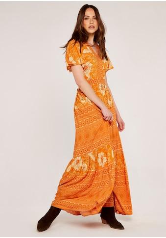 Apricot Maxikleid »Floral Geo Mix Print Maxi Dress«, im Druckmix kaufen