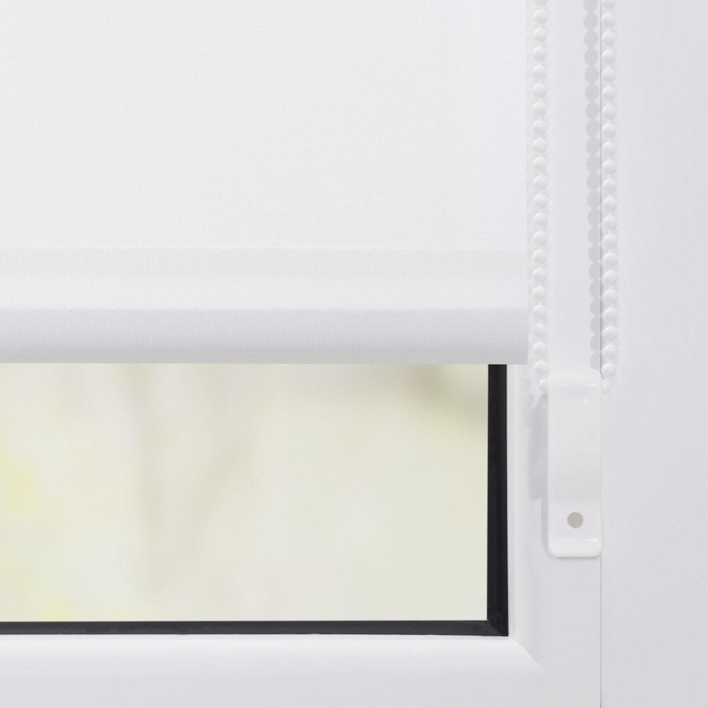 LICHTBLICK ORIGINAL Seitenzugrollo »Klemmfix Motiv Rentier Weihnachten«, Lichtschutz, ohne Bohren, freihängend, bedruckt