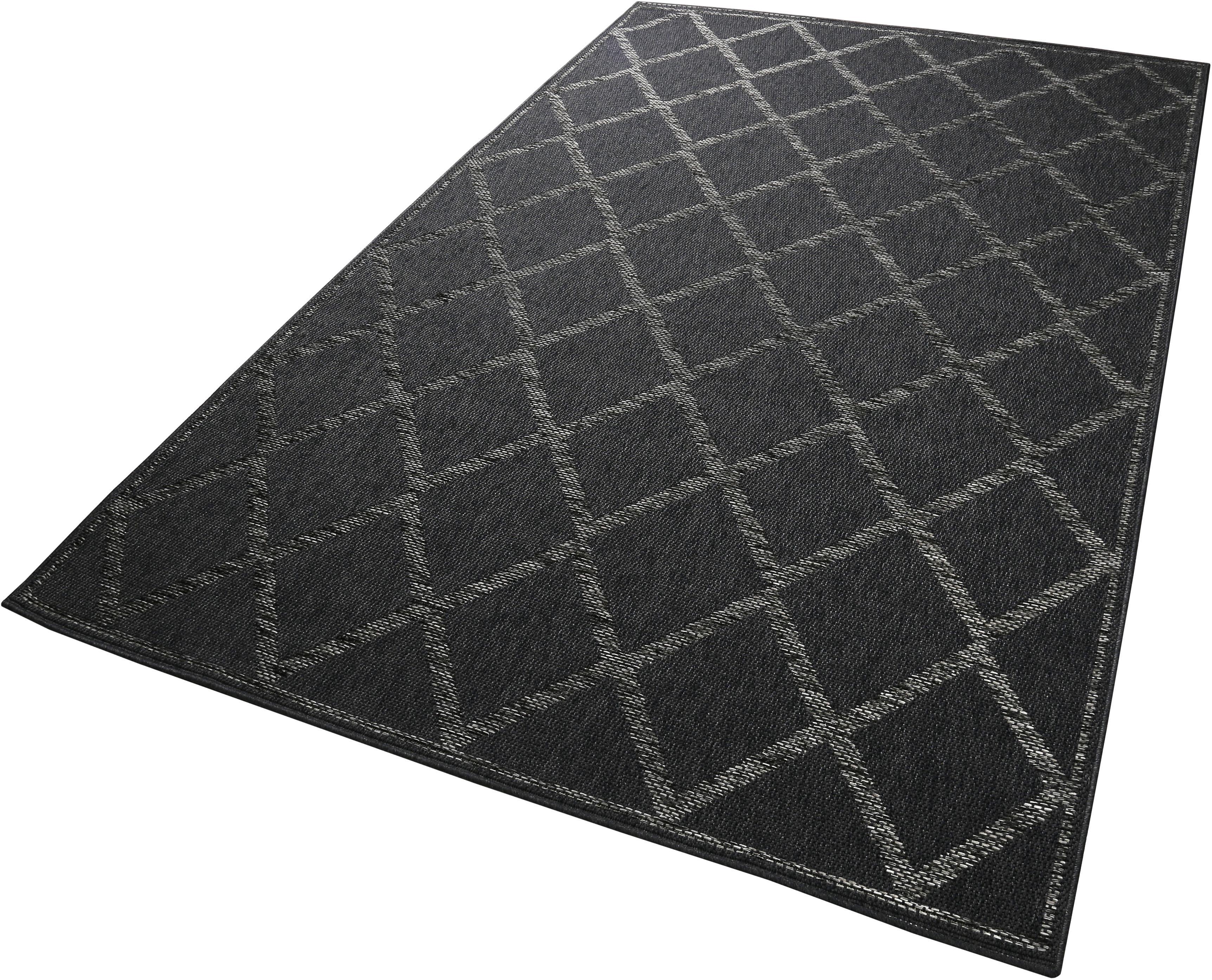 Teppich Rhomb Esprit rechteckig Höhe 5 mm maschinell gewebt