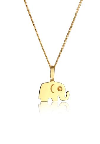 Elli Collierkettchen »585 Gelbgold Elefant« kaufen