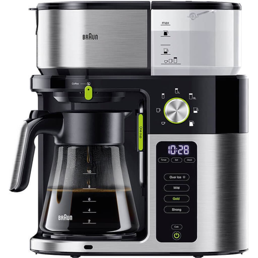 Braun Filterkaffeemaschine MultiServe KF9050BK