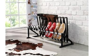 Ruco Schuhregal, Aluminium/Kunststoff, ausziehbar von 60-105 cm kaufen