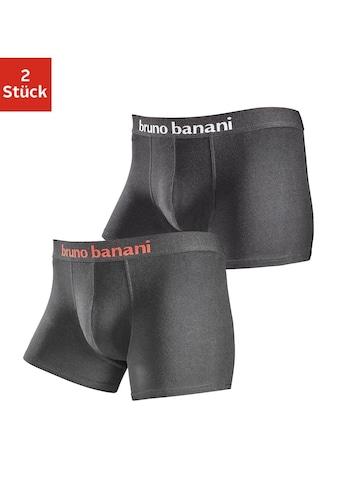 Bruno Banani Boxer, (Packung, 2 St., 2er-Pack), in schlichtem Design kaufen