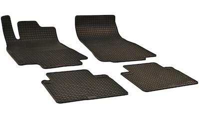 WALSER Passform-Fußmatten, Mercedes, A-Klasse, Schrägheck, (4 St., 2 Vordermatten, 2... kaufen