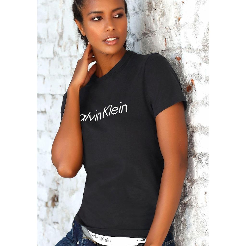 Calvin Klein T-Shirt, mit großem Logodruck