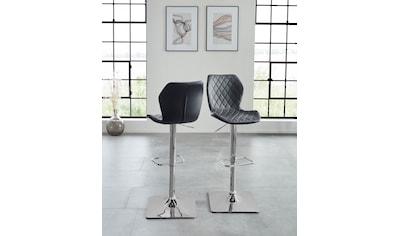 Duo Collection Barhocker »Barhocker Alcona«, 2er-Set, 360°drehbar, stufenlos höhenverstellbar kaufen