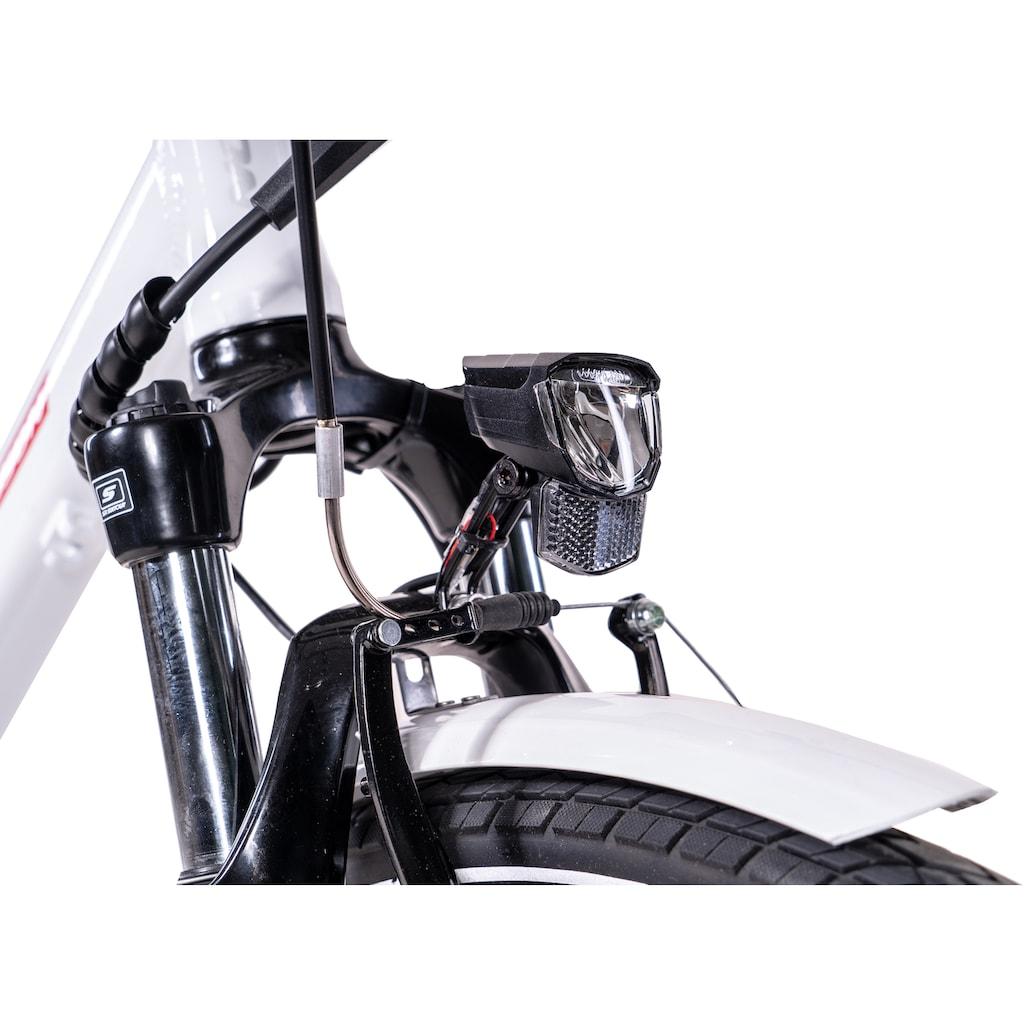 Chrisson E-Bike »E-GENT«, 8 Gang, Shimano, SG-C3000-7C, Frontmotor 250 W