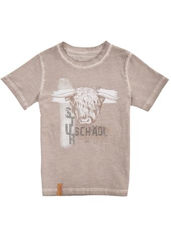 MarJo Trachtenshirt, mit frechem Print kaufen