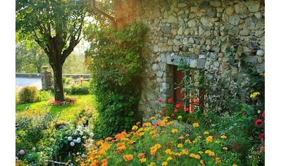 Papermoon Fototapete »Französisches Landhaus«, Vliestapete, hochwertiger Digitaldruck kaufen
