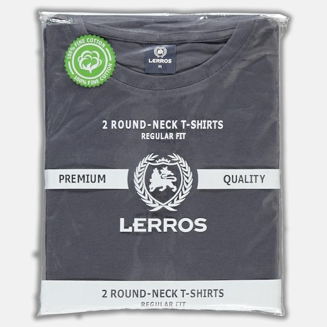 LERROS T-Shirt »im Doppelpack« (Packung, 2er-Pack)
