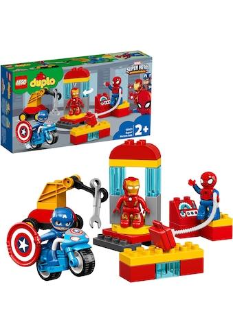 LEGO® Konstruktionsspielsteine »Iron Mans Labor-Treffpunkt (10921), LEGO® DUPLO®... kaufen