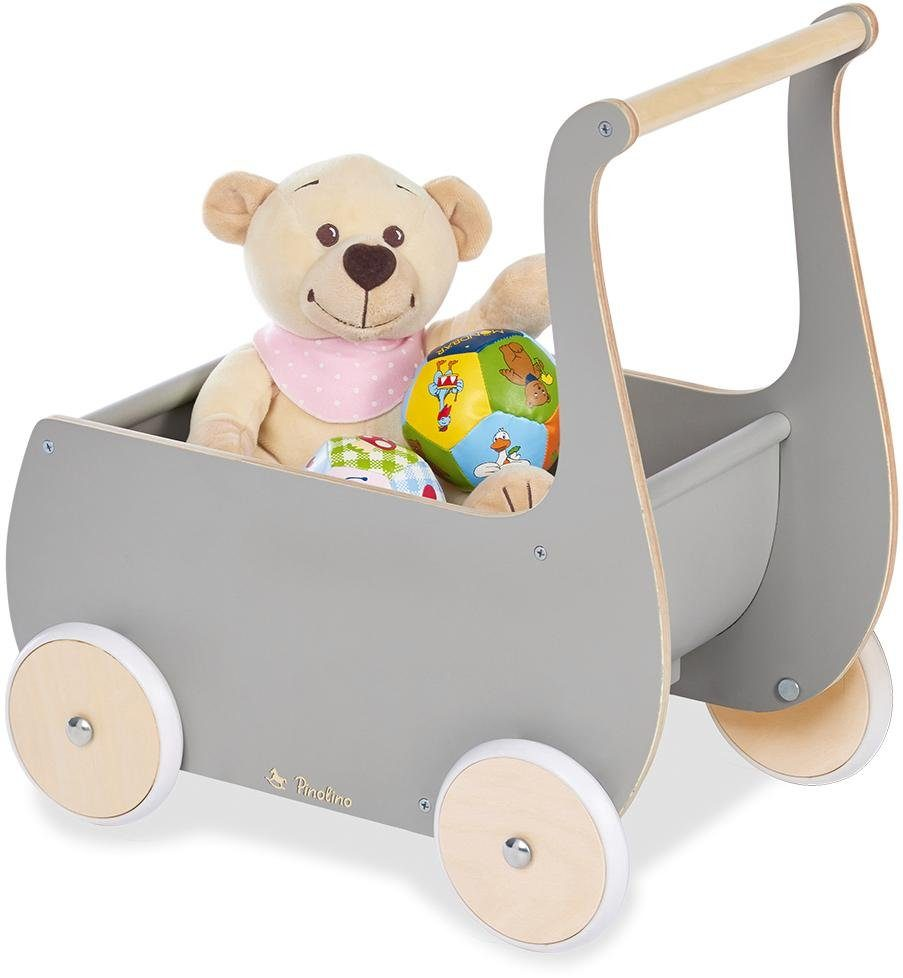 Pinolino Puppenwagen Mette, grau Kinder Puppenzubehör Puppen