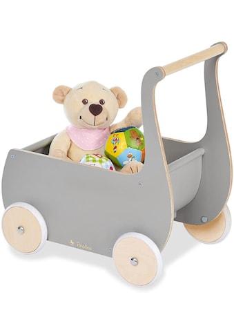 """Pinolino® Puppenwagen """"Mette, grau"""" kaufen"""