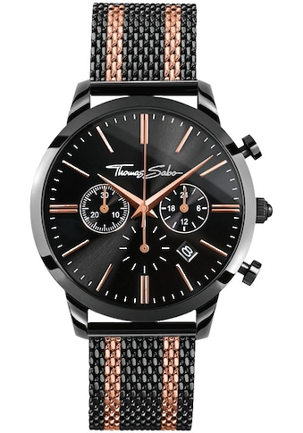 THOMAS SABO Chronograph »REBEL SPIRIT CHRONO, WA0289 - 285 - 203 - 42 mm« kaufen
