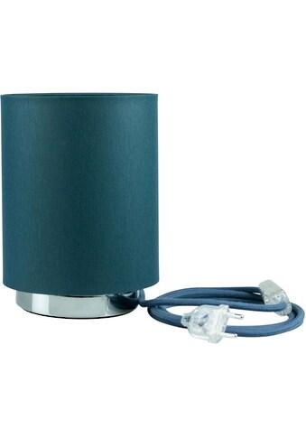 SEGULA Tischleuchte »Tischlampe - Chrom-Petrol, 2m Baumwollkabel mit Schalter«, E27,... kaufen
