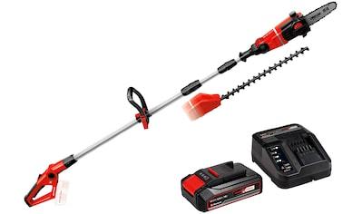EINHELL Akku - Multifunktionswerkzeug »GE - HC 18 Li T + 2,5Ah Starter Kit«, 40 cm Schnittlänge, mit Akku und Ladegerät kaufen