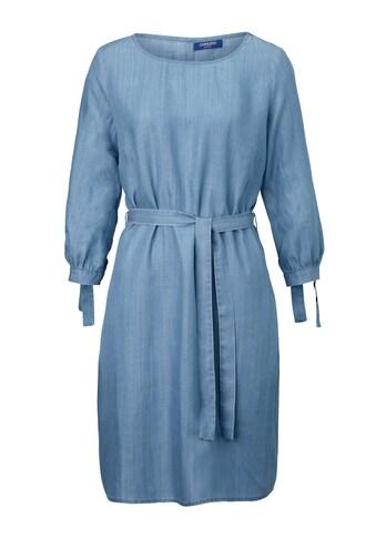 Conleys Blue Denimkleid mit Bindedetail kaufen