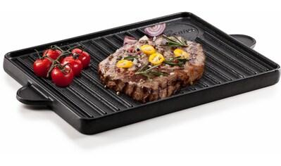 Genius Grillplatte »BBQ«, Gusseisen, (1 St.) kaufen