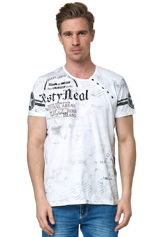 Rusty Neal T-Shirt, mit coolem Logo-Print kaufen