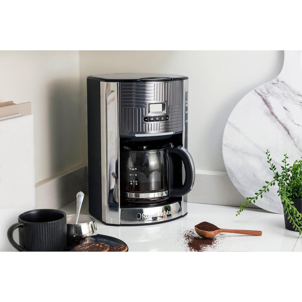 RUSSELL HOBBS Filterkaffeemaschine »Geo Steel 25270-56«, Papierfilter, 1x4