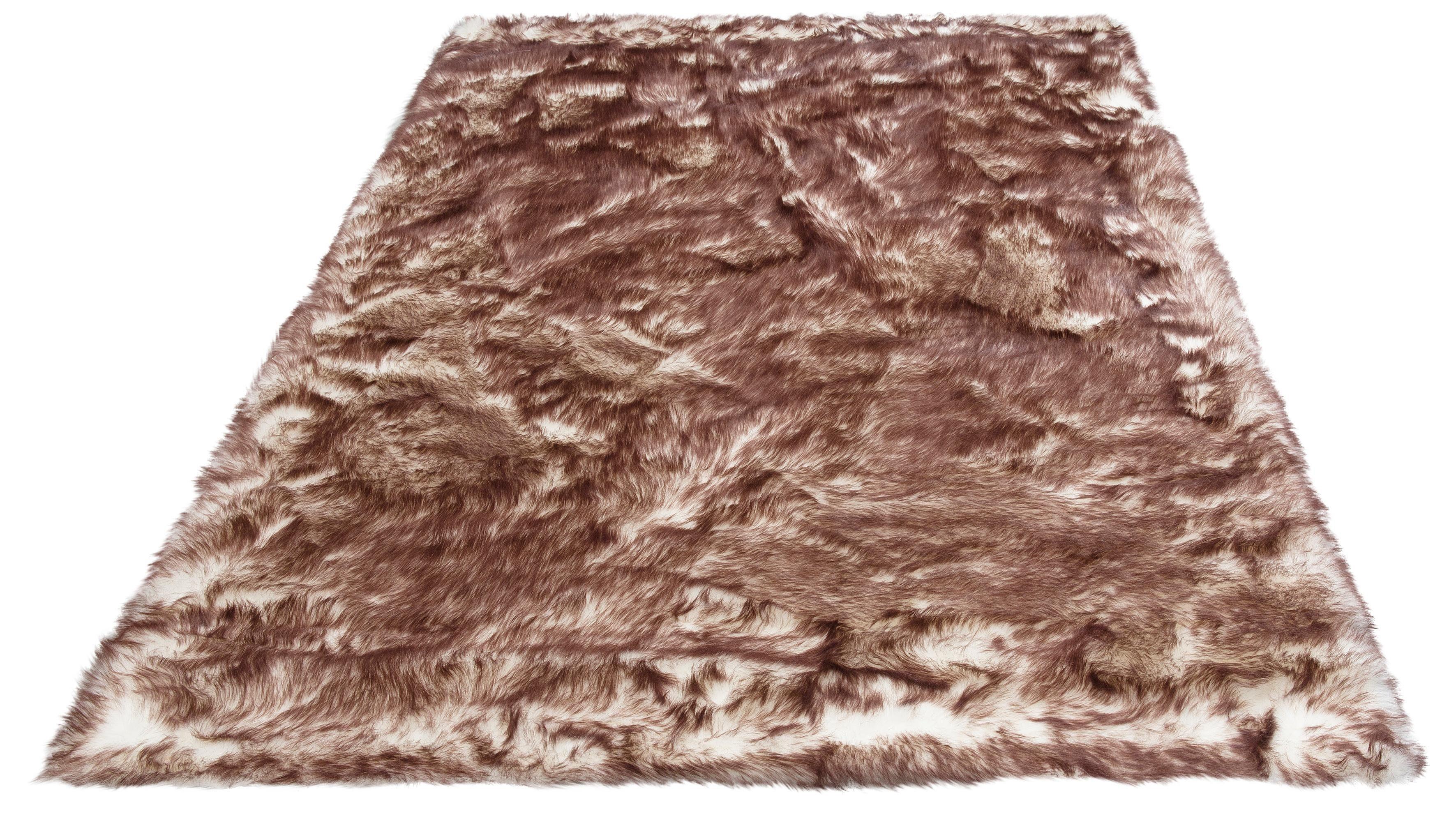Hochflor-Teppich Sammo my home rechteckig Höhe 60 mm gedruckt