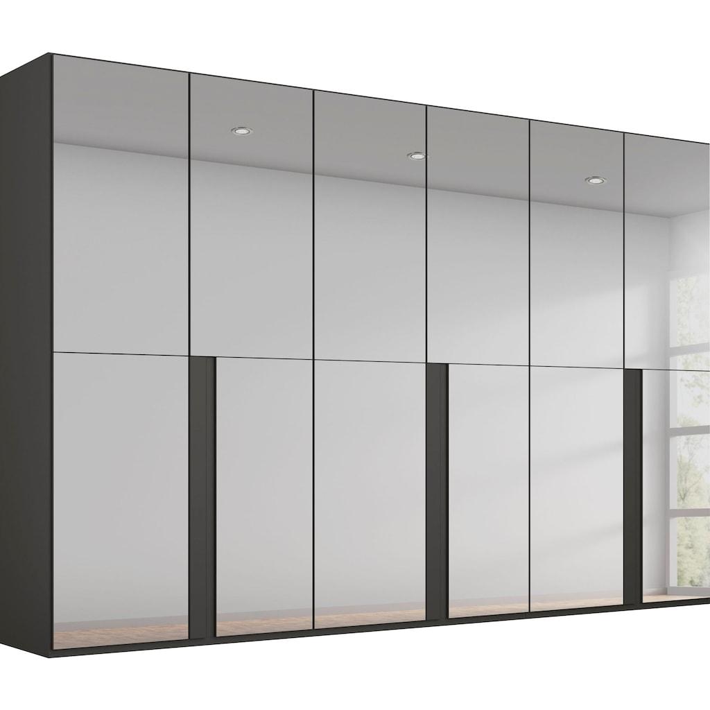 rauch BLACK Drehtürenschrank »Talus«, mit umfangreicher Innenausstattung, wahlweise mit oder ohne Grauspiegel