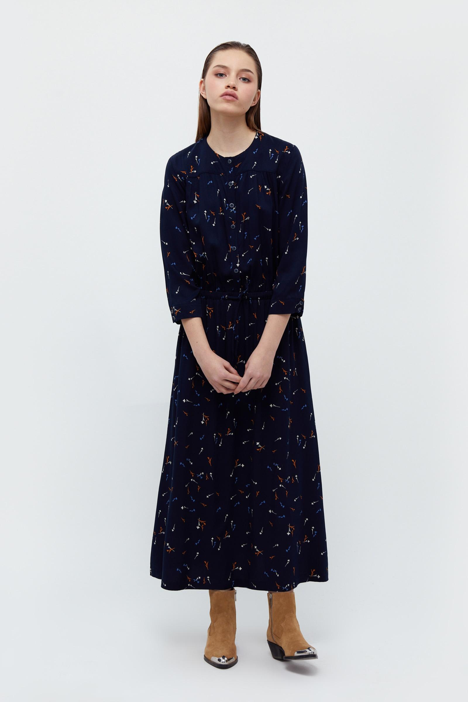 finn flare -  Jerseykleid, mit floralem Muster