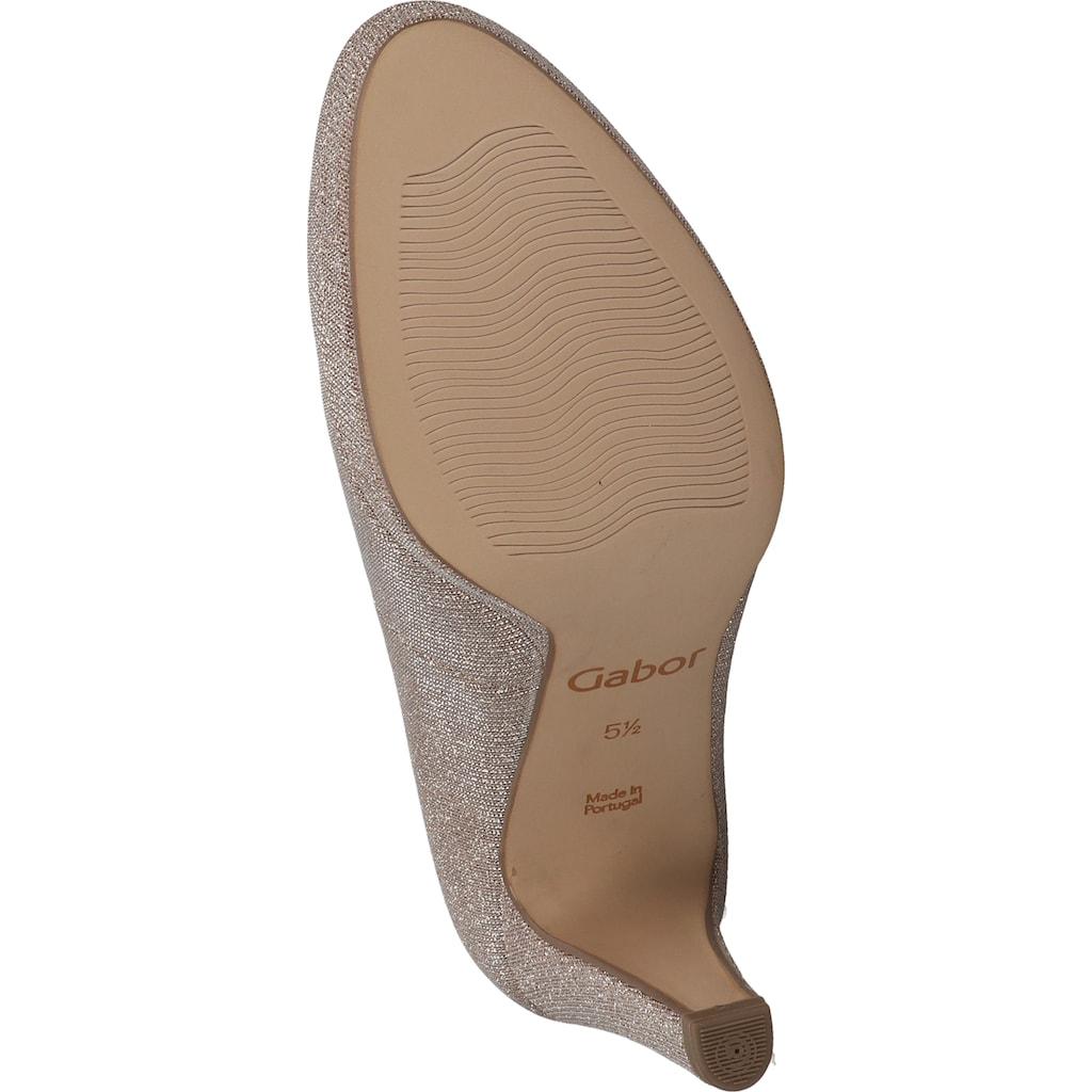 Gabor High-Heel-Pumps »Lederimitat«