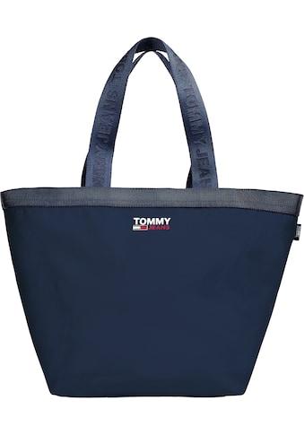 Tommy Jeans Shopper »CAMPUS TOTE«, in schlichter Optik aus recycled Polyester kaufen