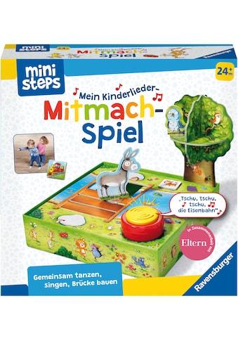 Ravensburger Spiel »ministeps® Kinderlieder-Mitmachspiel«, Made in Europe, FSC® - schützt Wald - weltweit kaufen