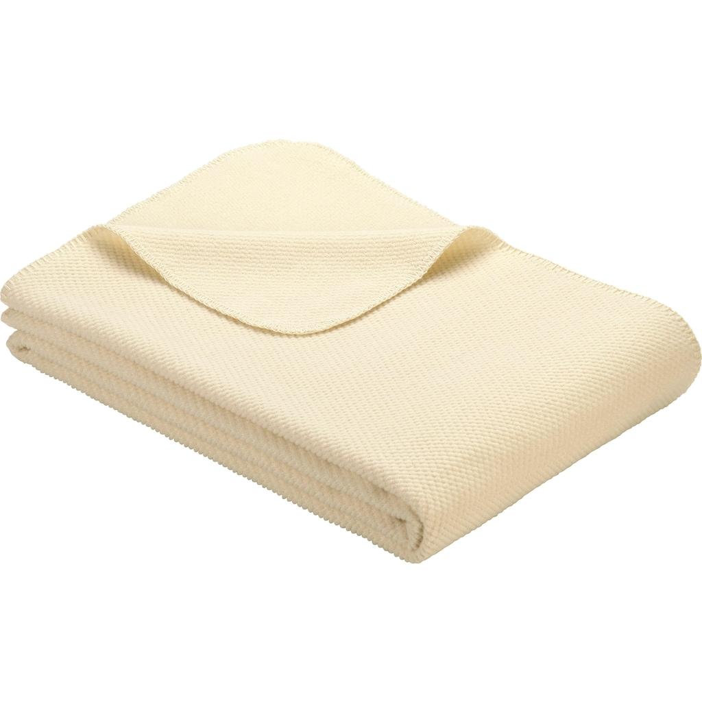 IBENA Wolldecke »Jacquard Decke Auckland«, GOTS zertifiziert