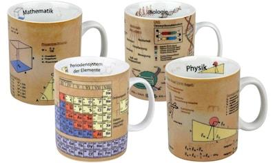 Könitz Becher »Naturwissenschaften«, (Set, 4 tlg., 4 Becher) kaufen