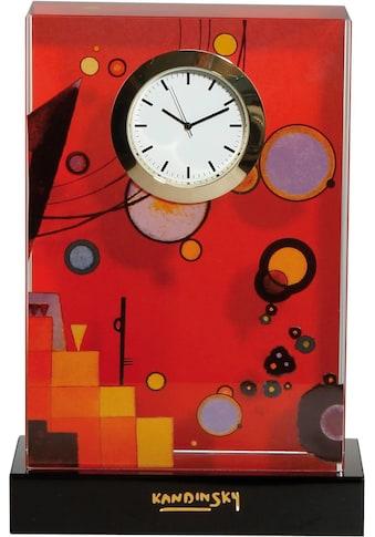 Goebel Tischuhr »Wassily Kandinski, Schweres Rot, 67100071« kaufen